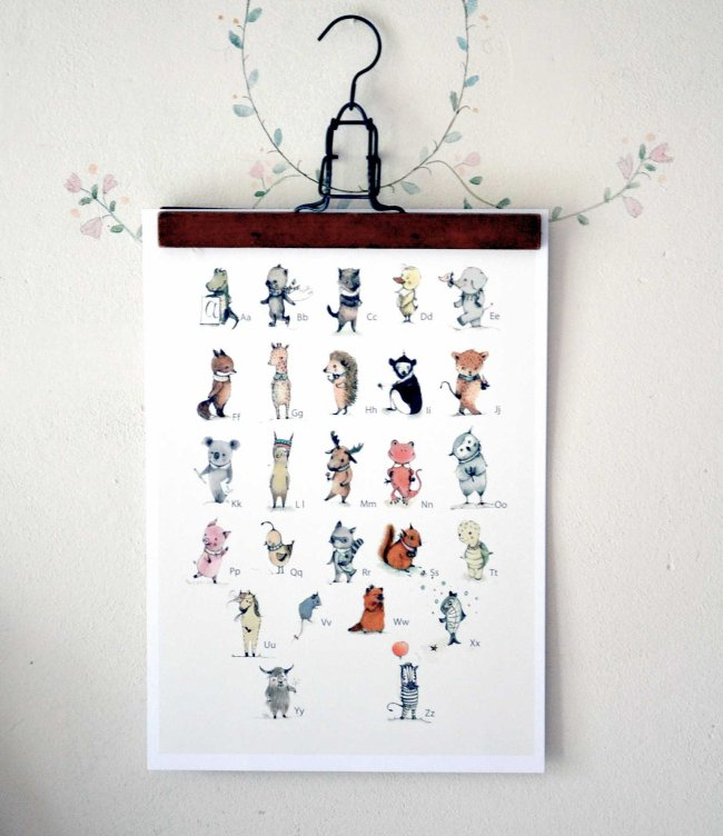 Alphabet poster by holli