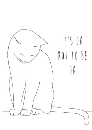 it's ok not to be ok by memorieswarehouse