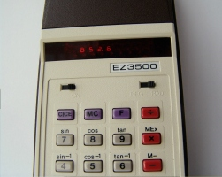 Vintage 1970's Electronic Calculator de LadyPepis
