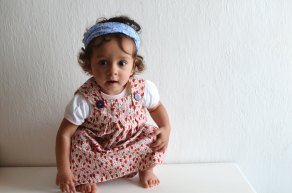 Girls Jumper Dress de 464Handmade