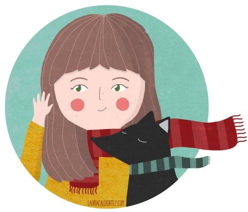 Custom portrait, personalized illustration, profile image for social media de LaurynGreen