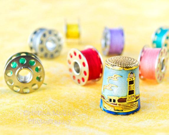 Colourful sewing set de CristinaPhotos