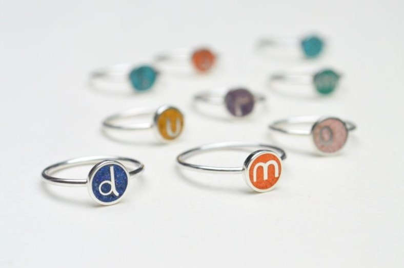 Two Initial Rings by maldonadojoyas