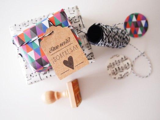 Stamp for gift labels de QuilezStamps